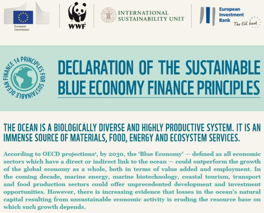 Blue economy 17.4.2018